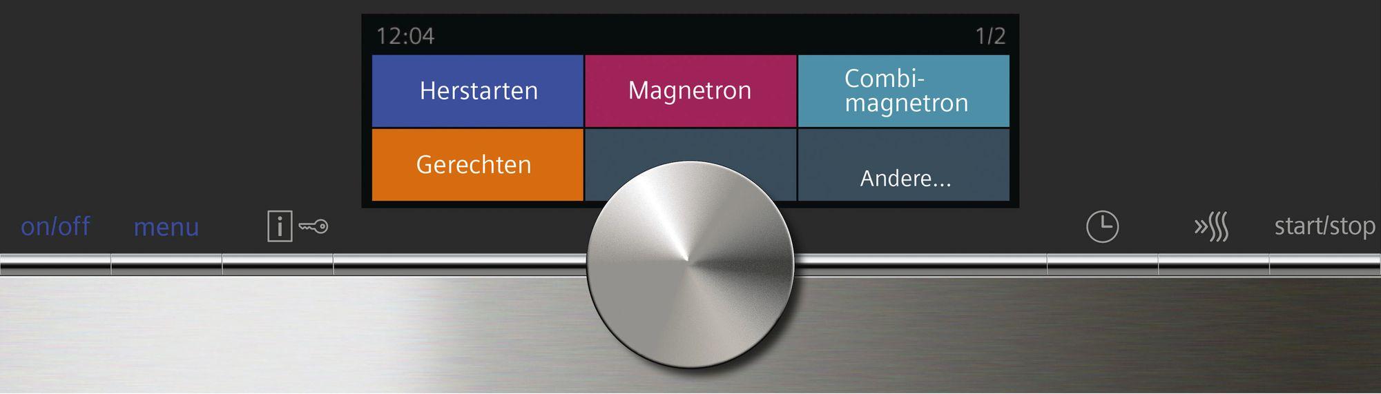 Il microonde integrato siemens bbmshop elettrodomestici da incasso e libero posizionamento - Forno con microonde integrato ...